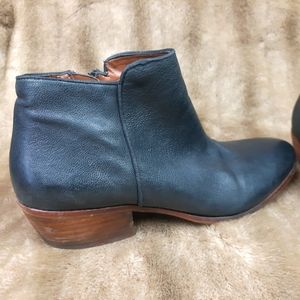 Sam Edelman leather ankle boots booties
